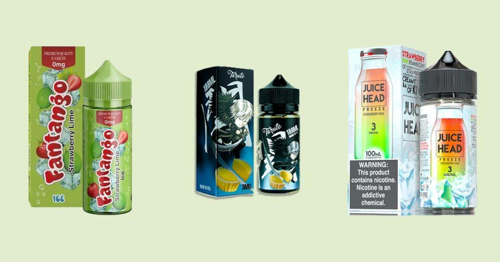 custom printed e juice boxes